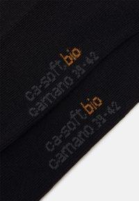 camano - ONLINE SOFT BIO SOCKS UNISEX 4 PACK - Strumpor - black - 1