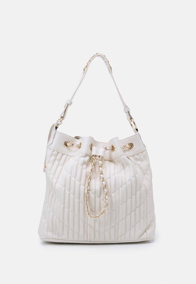 HANDBAG - Käsilaukku - beige