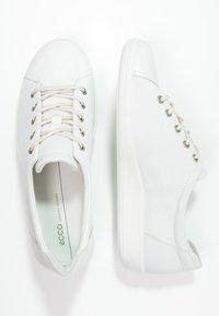 ECCO - SOFT  - Sneakers basse - white - 3