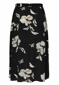 ONLY Carmakoma - CURVY PRINT - A-line skirt - black - 4