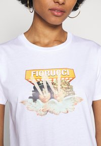 Fiorucci - VINTAGE LIGHTS TEE - T-shirt con stampa - white - 6