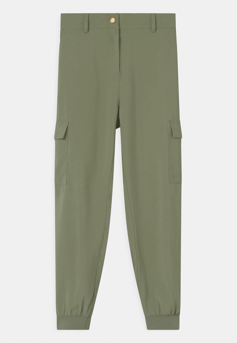 Lindex - ARLENE - Pantalon cargo - dusty green