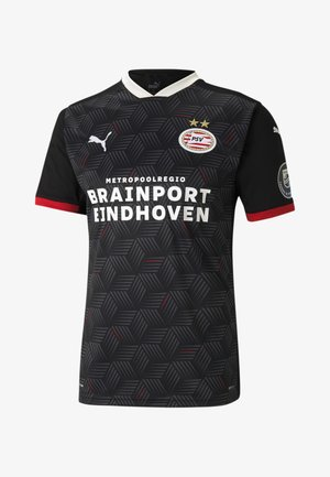 PSV EINDHOVEN THIRD REPLICA MEN'S JERSEY MAN - Pelipaita -  black-high risk red