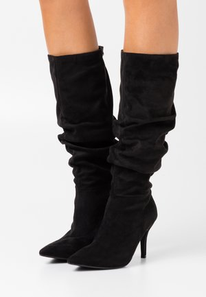 VLOUCH - High heeled boots - black