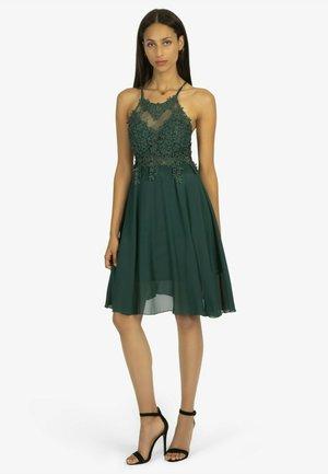 Cocktail dress / Party dress - smaragdgrün
