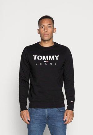 NOVEL LOGO CREW - Sweatshirt - black