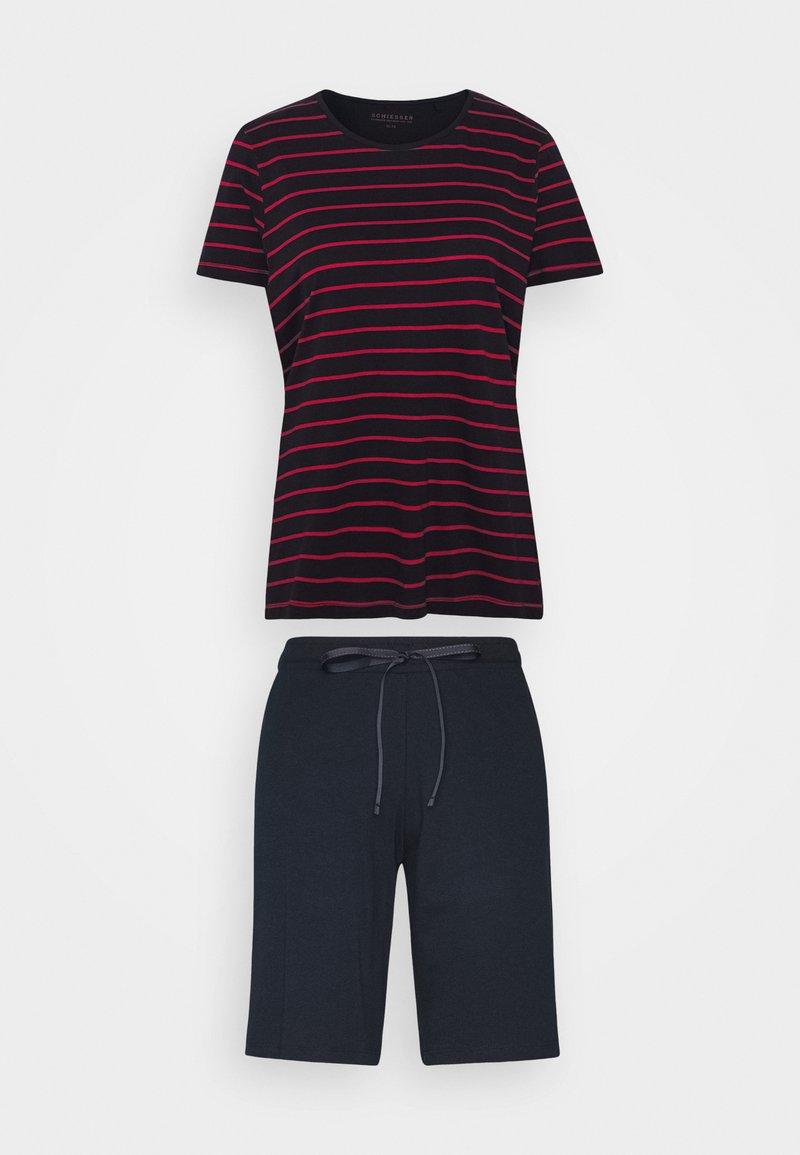 Schiesser - Pyjama set - blau/rot