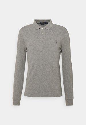 Polo shirt - metallic grey heather