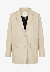 Object - Leather jacket - beige - 5