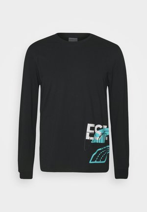 FRANCHISE STREET TEE - T-shirt à manches longues - black