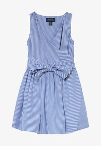 Polo Ralph Lauren - WRAP DRESS - Day dress - blue - 3