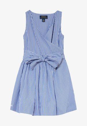 WRAP DRESS - Day dress - blue
