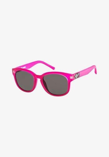 CAPARICA - Sunglasses - matte grey/flash rosegold