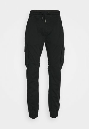JOGGER - Cargobroek - black