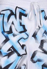Jaded London - GRAFFITI - Pantaloni sportivi - white - 2