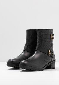 Faith - BIKE - Cowboy/biker ankle boot - black - 4