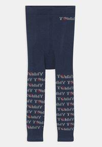 Tommy Hilfiger - BABY 2 PACK UNISEX - Leggings - Stockings - dark blue/pink - 2