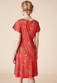 Indiska - Jersey dress - red - 1