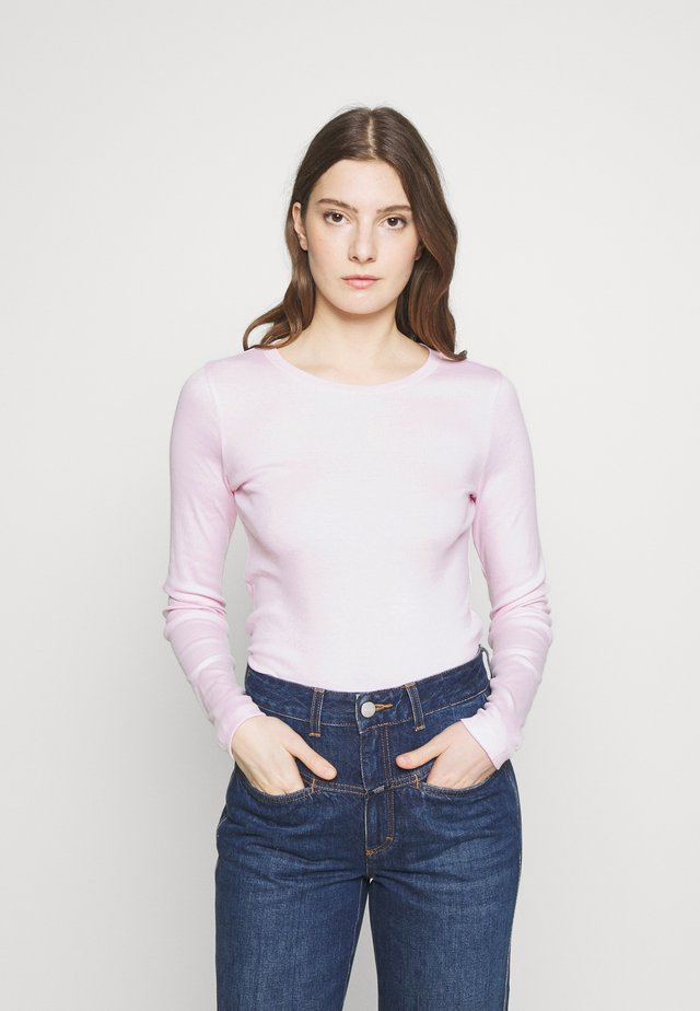 SLIM PERFECT  - T-shirt à manches longues - pink