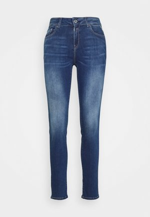 FAABY PANTS - Jeans slim fit - dark blue