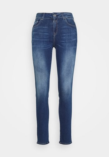 FAABY PANTS - Slim fit jeans - dark blue