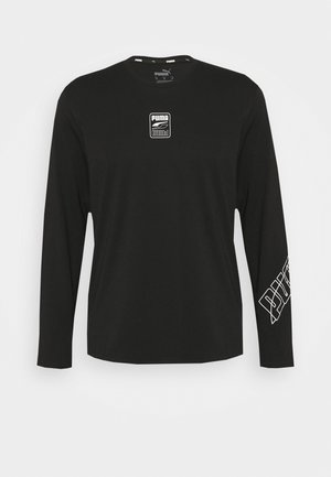 REBEL TEE - Long sleeved top - black