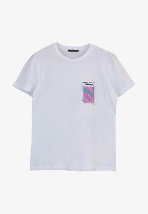 T-shirts print - white