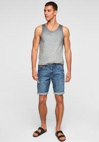 s.Oliver - Jeans Shorts - medium blue - 1