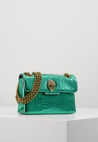 Kurt Geiger London - MINI KENSINGTON X BAG - Across body bag - mid green - 1