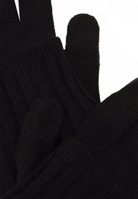 Nike Performance - COLD WEATHER KNIT GLOVES - Hansker - black/black/silver - 2