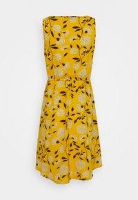ONLY - ONLNOVA LUX SARA DRESS - Vestido informal - golden yellow/white - 1