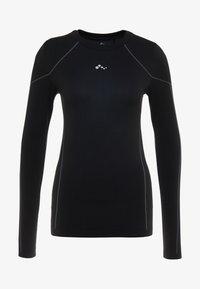 ONLY Play - ONPHUSH RUN CIRCULAR TEE - Sports shirt - black - 5
