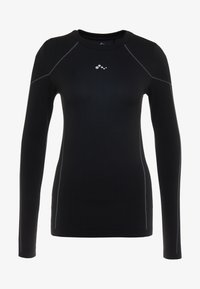 ONLY Play - ONPHUSH RUN CIRCULAR TEE - Koszulka sportowa - black - 5