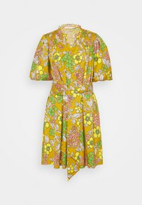 PRINTED TIE DRESS - Day dress - multi-coloured