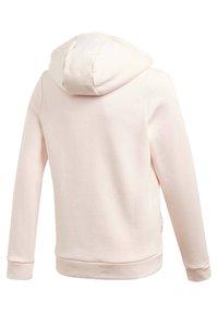adidas Performance - MUST HAVES WINTER LOGO - Zip-up hoodie - pink - 2
