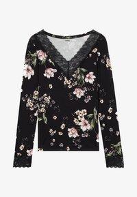Tezenis - LONG SLEEVED - Blouse - nero st.floral bouquet - 3