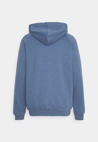 adidas Originals - TREFOIL HOOD UNISEX - Felpa - crew blue - 1