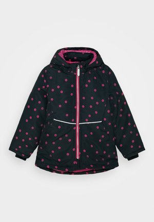 NKFMAXI JACKET DOT - Winter jacket - dark sapphire