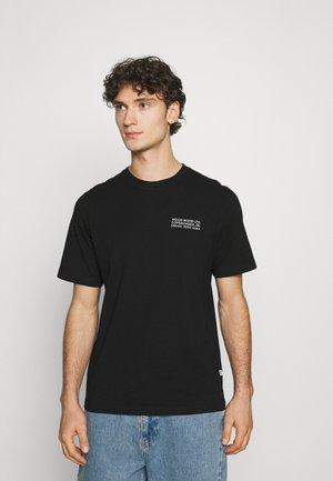 SAMI INFO  - T-shirt print - black