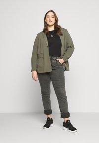 Zizzi - AMY - Jeans Skinny Fit - grey denim - 1