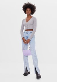 Bershka - Kardigan - light grey - 1