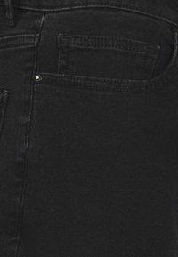 Pegador - BAYAMO DISTRESSED ANKLE - Straight leg jeans - black - 9
