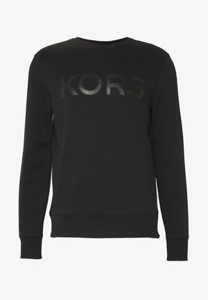 GARMENT DYE LOGO - Sweatshirt - black