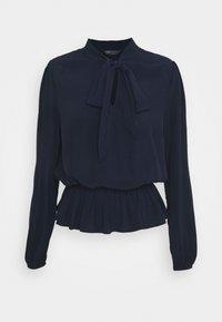 Marks & Spencer London - PLAIN PEPLUM - Bluser - dark blue - 0