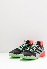 adidas Performance - HARDEN STEPBACK - Basketball shoes - core black/grey two/glow mint - 2