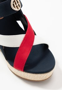 Tommy Hilfiger - ELENA - High heeled sandals - red/white/blue - 2