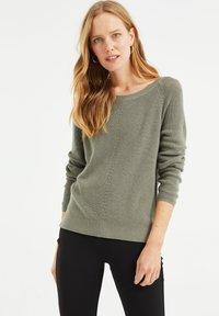 WE Fashion - Jumper - moss green - 3