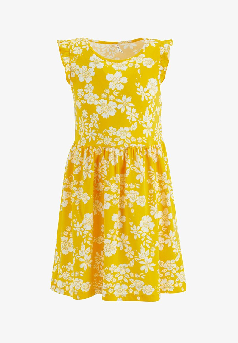 DeFacto - Day dress - yellow