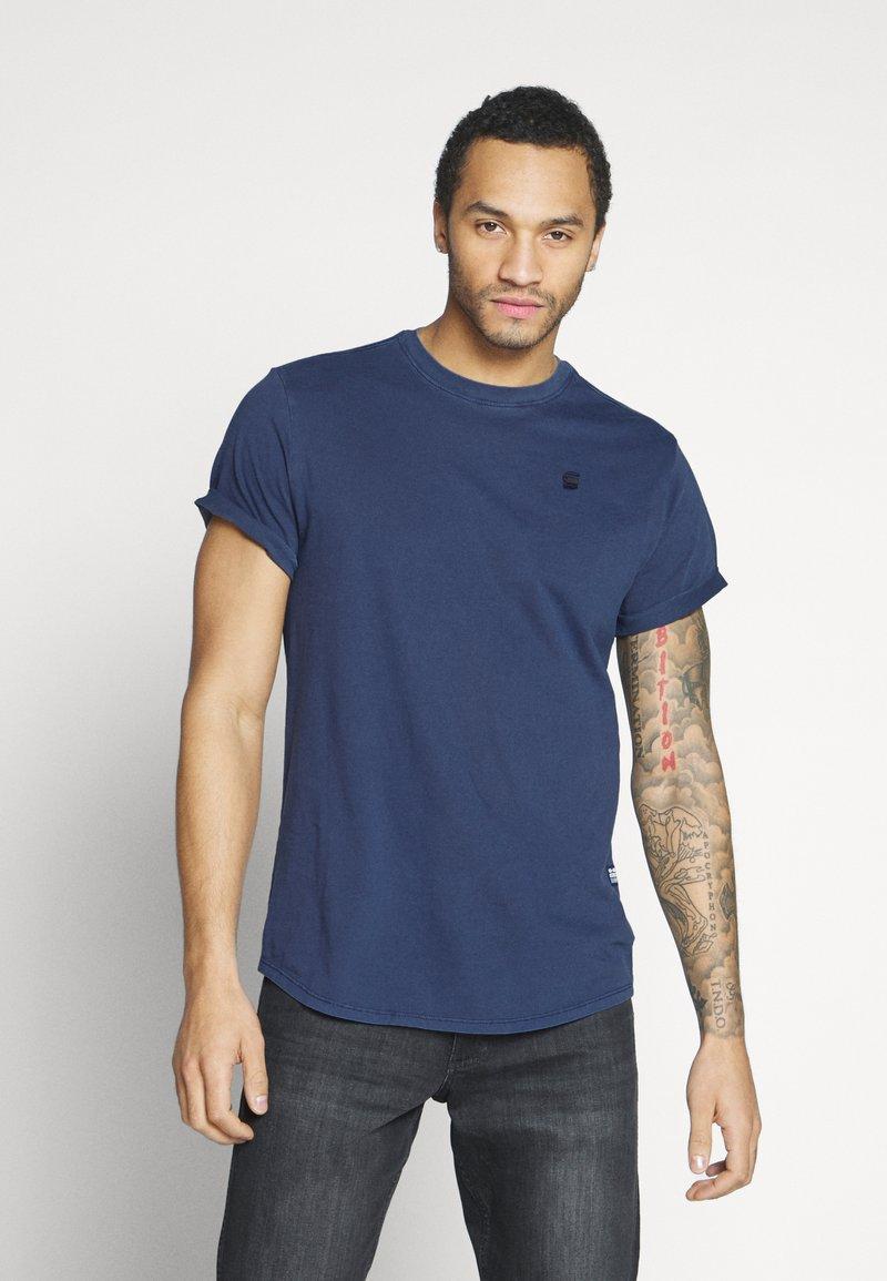 G-Star - LASH  - Basic T-shirt - sartho blue