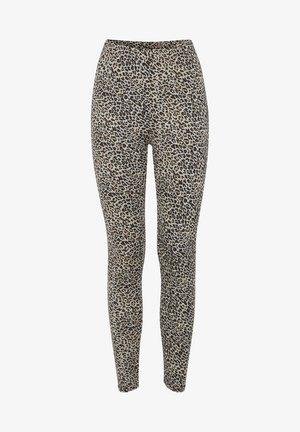 Leggings - Trousers - sand leo mix